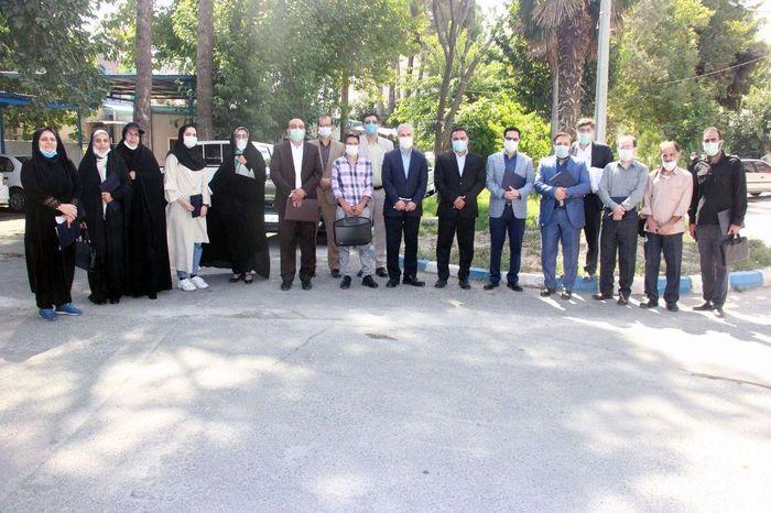 شرکت آب و فاضلاب منطقه۶ تهران- شهرری در گرامی داشت روز خبرنگار از خبرنگاران و اصحاب رسانه جنوب تهران تجلیل کرد.