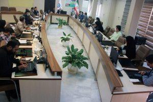 برگزاری آیین تجلیل از خبرنگاران به میزبانی آبفای منطقه6تهران- شهرری1