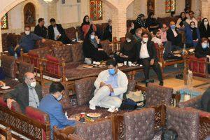 خاطره شیرین خبرنگاران البرز در باغ گردو4