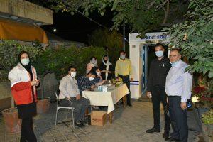 خاطره شیرین خبرنگاران البرز در باغ گردو