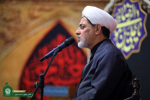 سخنران حرم مطهر رضوی: امام سجاد (ع) خبرنگار واقعه کربلا بود
