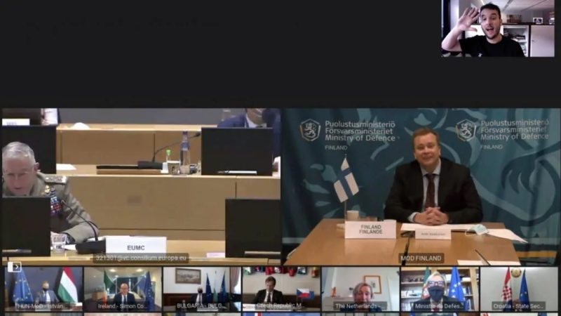 اشتباه وزیر دفاع هلند و ورود خبرنگار هلندی به جلسه محرمانه اتحادیه اروپا