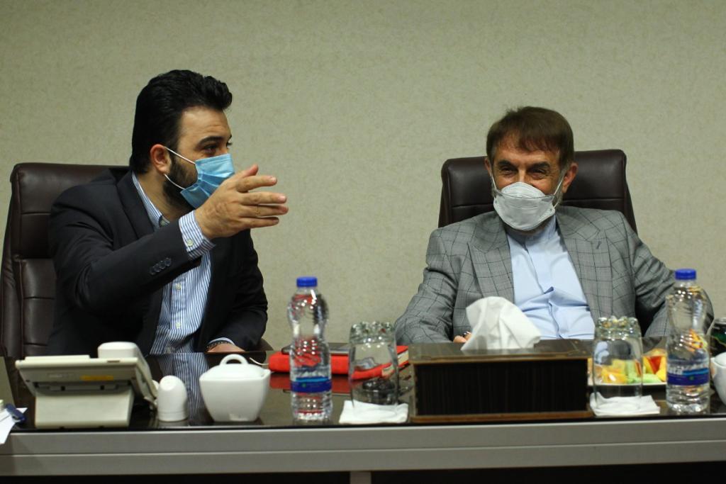 نشست هیئت مدیره صندوق اعتباری هنر با دکتر آقامحمدی عضو مجمع تشخیص مصلحت نظام