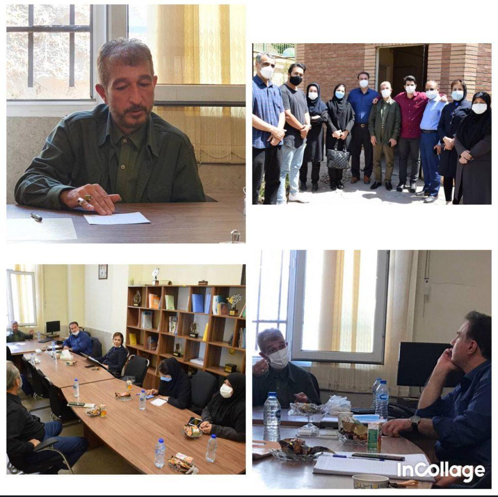 بازدید رئیس شورای اسلامی شهر کرج از خانه مطبوعات و رسانه های استان البرز